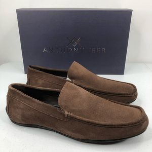 Anthony Veer Moc Driving Loafer Cleveland Leather
